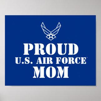 Proud Family - Logo & Star on Blue Poster