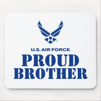 Proud Family – Small Air Force Logo & Name Mouse Mat