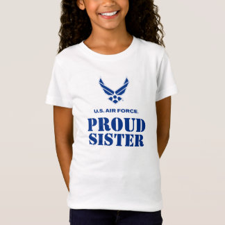 Proud Family – Small Air Force Logo & Name T-Shirt
