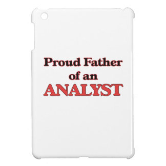 Proud Father of a Analyst iPad Mini Cover