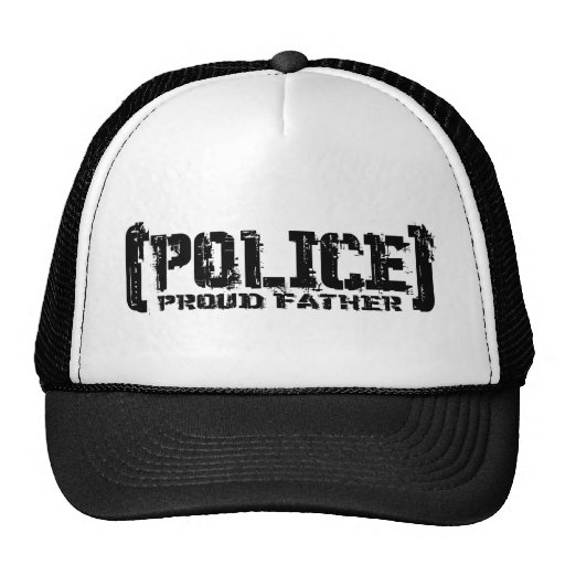 Proud Father - POLICE Tattered Hats