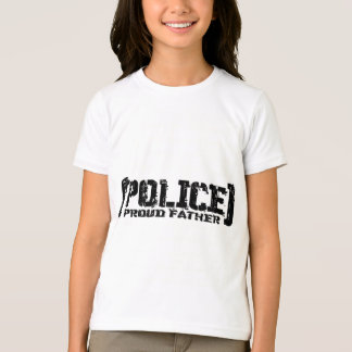Proud Father - POLICE Tattered T-Shirt