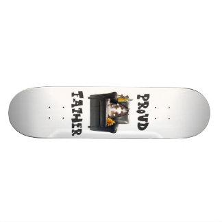 """Proud Father"" Skateboard Deck"