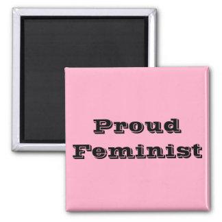 Proud Feminist Refrigerator Magnet