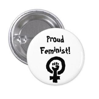 Proud Feminist Pin