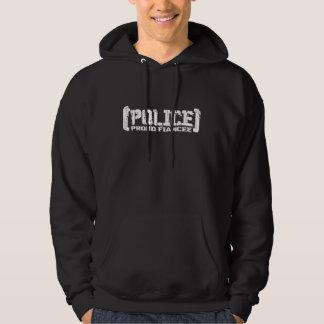 Proud Fiancee- POLICE Tattered Hoody