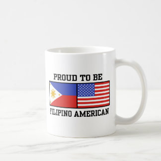 Proud Filipino American Coffee Mug