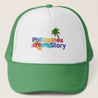 Proud Filipino Trucker Hat