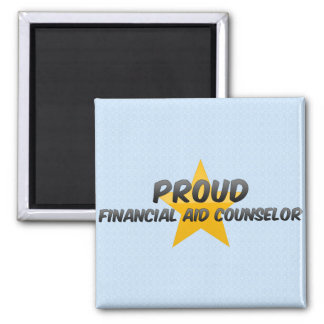 Proud Financial Aid Counselor Refrigerator Magnet
