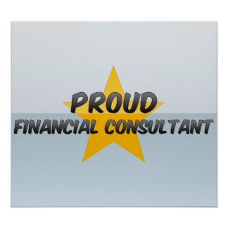 Proud Financial Consultant Print