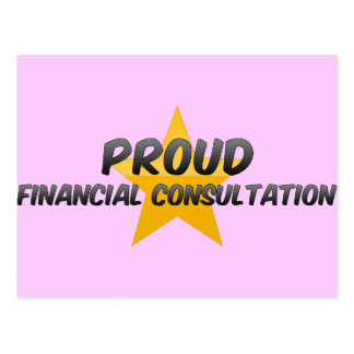 Proud Financial Consultation Postcards