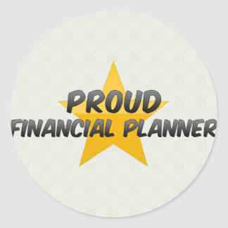 Proud Financial Planner Stickers
