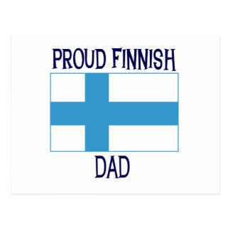 Proud Finnish Dad Postcards