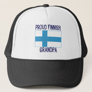 Proud Finnish Grandpa Trucker Hat
