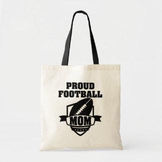 Proud Football Mom tote bag