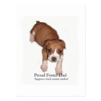 Proud Foster Dad Postcard