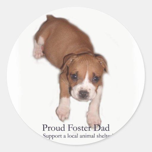 Proud Foster Dad Sticker