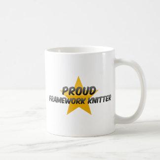 Proud Framework Knitter Coffee Mugs