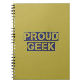 Proud Geek Note Book