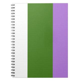 Proud Genderqueer Notebooks