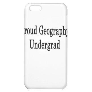 Proud Geography Undergrad iPhone 5C Cases