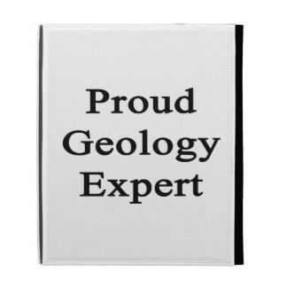 Proud Geology Expert iPad Folio Cases