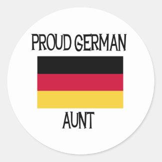 Proud German Aunt Stickers