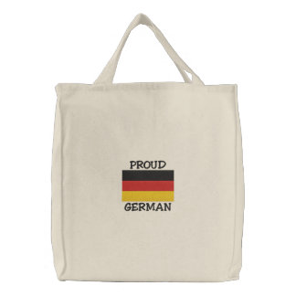 Proud German Embroidered Bag