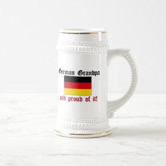 Proud German Grandpa Beer Stein