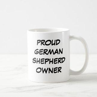 """""""Proud German Shepherd Owner"""" Mug"""