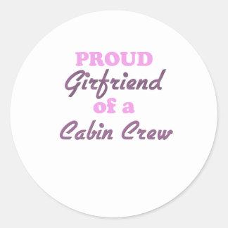 Proud Girlfriend of a Cabin Crew Sticker
