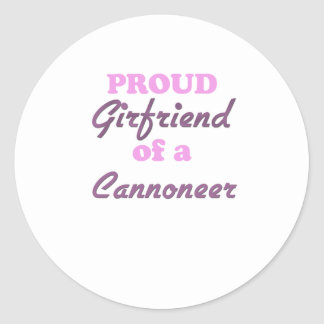 Proud Girlfriend of a Cannoneer Stickers