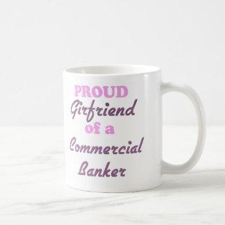 Proud Girlfriend of a Commercial Banker Basic White Mug