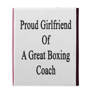 Proud Girlfriend Of A Great Boxing Coach iPad Case