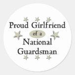 Proud Girlfriend of a National Guardsman Sticker