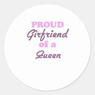 Proud Girlfriend of a Queen Sticker