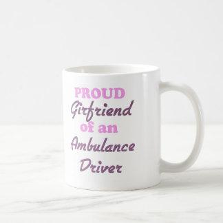 Proud Girlfriend of an Ambulance Driver Coffee Mug