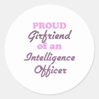 Proud Girlfriend of an Intelligence Officer Sticker