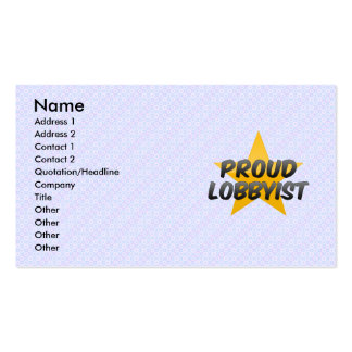 Proud Goal Umpire Pack Of Standard Business Cards