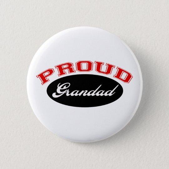 Proud Grandad 6 Cm Round Badge
