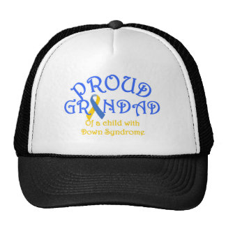 Proud Grandad of a Down Syndrome Child Hat