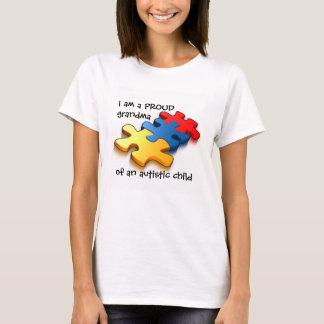 Proud Grandma Autistic Child T-Shirt