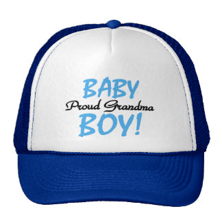 Proud Grandma Baby Boy T shirts and Gifts Cap