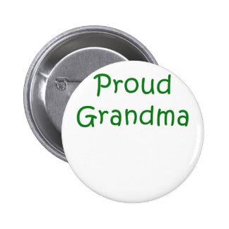 Proud Grandma 6 Cm Round Badge