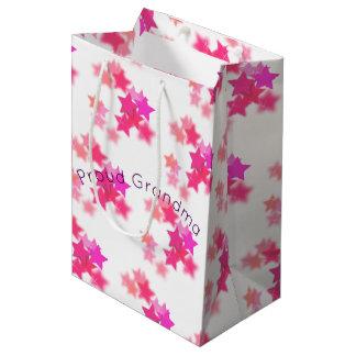 Proud Grandma Medium Gift Bag