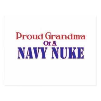 Proud Grandma of a Navy Nuke Post Card