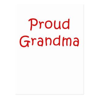 Proud Grandma Postcard