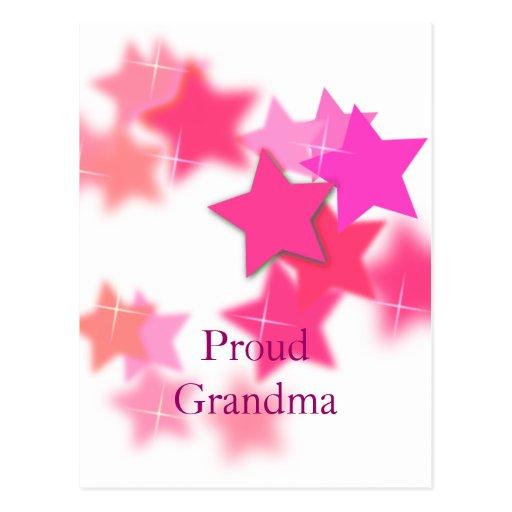 Proud Grandma Post Cards