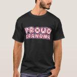 PROUD Grandma, red-white-blue T-Shirt