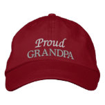Proud Grandpa Embroidered Cap/Hat Embroidered Baseball Cap